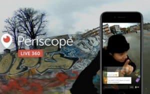 Periscope şimdi 360 derece Canlı Yayın Özelliği ile Güncellendi