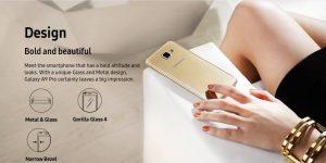 Samsung Galaxy A9 Pro (2016) Avrupa'ya Gelecek