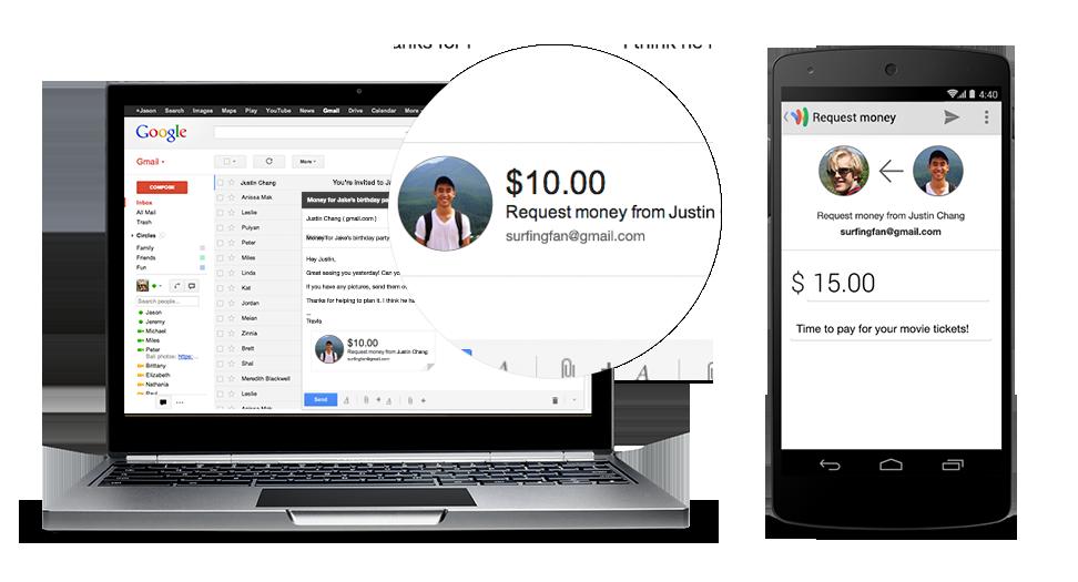 Gmail'den Para Alıp Göndermek Artık Mümkün