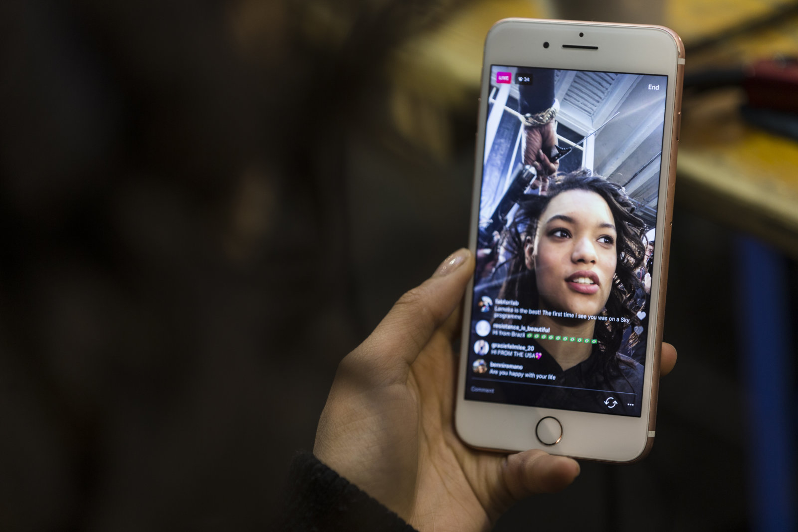 Instagram Canlı Yayınlarına Yeni Özellik