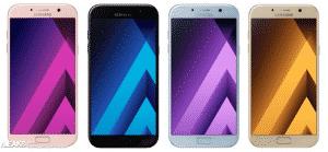 Samsung Galaxy A5 2017 modeli sızdırıldı
