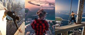 Kanadalı Gençten Yükseklik Korkusu Olanların İzleyemeyeceği Efsane Video!