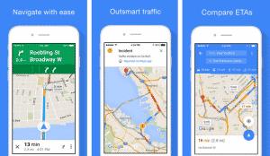 Google Haritalar güncellendi
