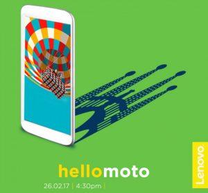 Motorola, 26 Şubat'ta Barselona'da MWC'de bir etkinlik düzenliyor